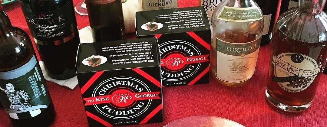 Wine and Spirit Recommendations for the King George Christmas Pudding